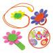 Набор Magic Blooms с волшебным жучком, кольцом, ожерельем и заколкой для волос