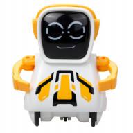 Робот Покибот желтый квадратный