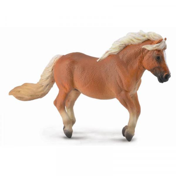 Фигурка Collecta Шетлендский пони, темно-рыжая масть, М