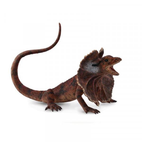 Фигурка Collecta Плащеносная ящерица (L)