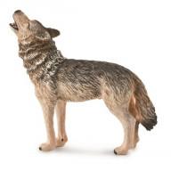 Фигурка Collecta Обыкновенный волк воющий, M