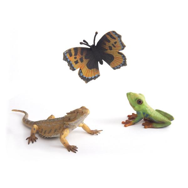 Набор насекомых Collecta, 3 фигурки