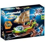 Конструктор Playmobil Супер4: Пират Хамелеон с Руби