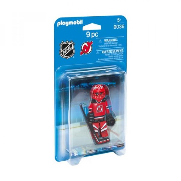 НХЛ Вратарь Нью-Джерси Дэвилс