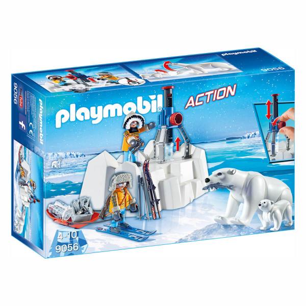 Конструктор Playmobil Полярная экспедиция: Исследователи Арктики с полярными медведями