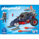 Конструктор Playmobil Полярная экспедиция: Ледяной пират со  снегоходом