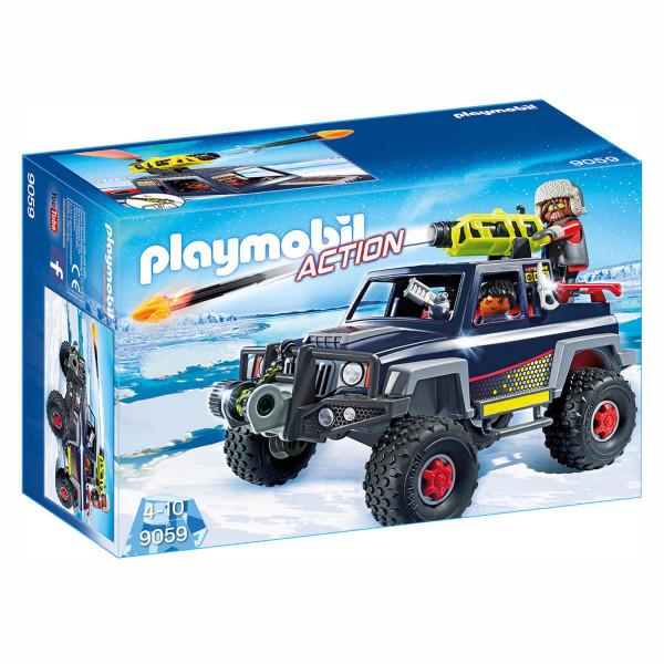 Конструктор Playmobil Полярная экспедиция: Ледяной пират со снежным грузовиком