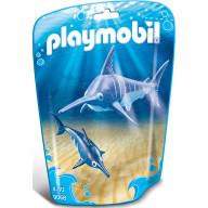 Конструктор Playmobil Аквариум: Рыба-меч с детенышем