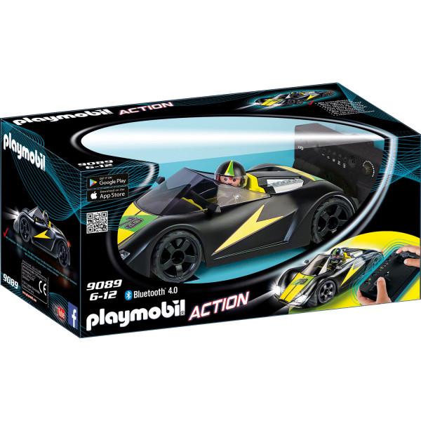 Конструктор Playmobil Радиоуправляемый турбо-гонщик