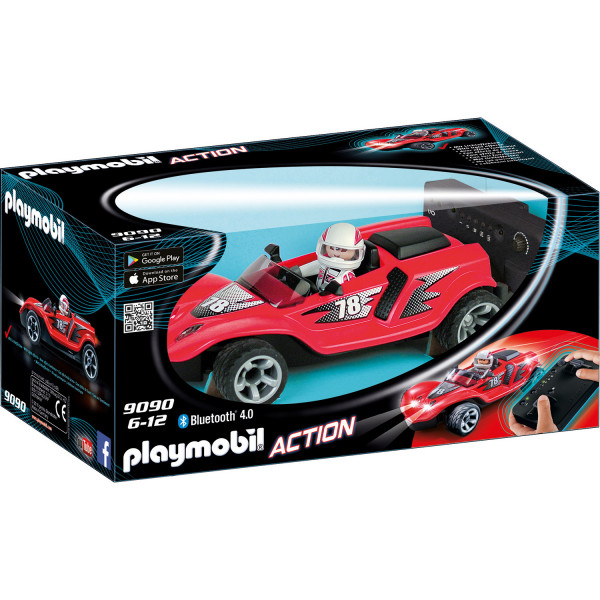 Конструктор Playmobil Радиоуправляемый ракетный гонщик