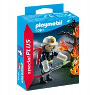 Конструктор Playmobil Экстра-набор: Пожарник с деревом