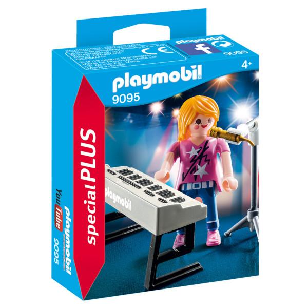Конструктор Playmobil Экстра-набор: Певица с синтезатором