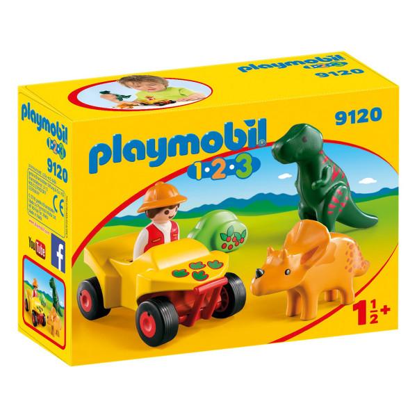 Конструктор Playmobil Исследователь с динозаврами