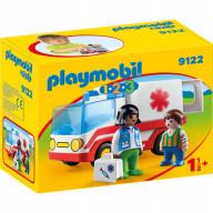 Конструктор Playmobil 1.2.3.: Скорая помощь