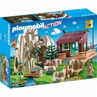 Конструктор Playmobil Горноспасательная: Скалолаз с кабиной