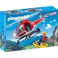 Конструктор Playmobil Горноспасательная: Вертолет горноспасателей