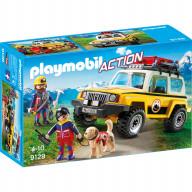 Конструктор Playmobil Горноспасательная: Грузовик горноспасателей