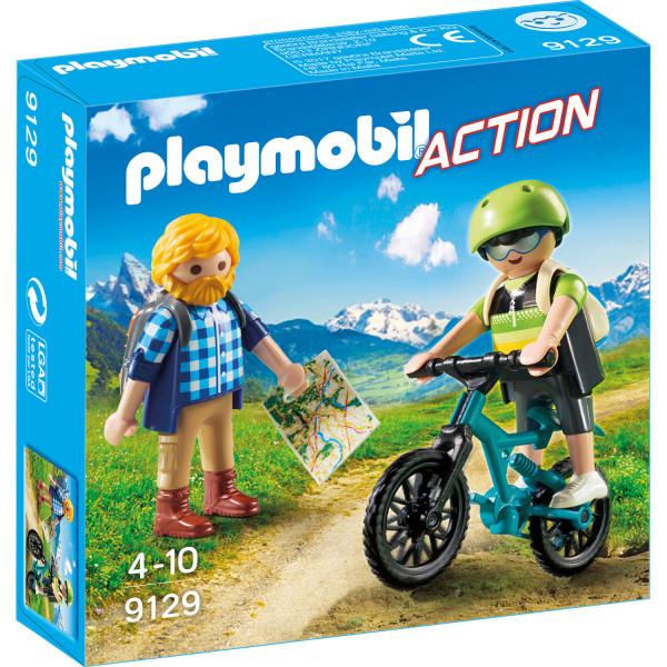 Конструктор Playmobil Горноспасательная: Байкер и путешественник