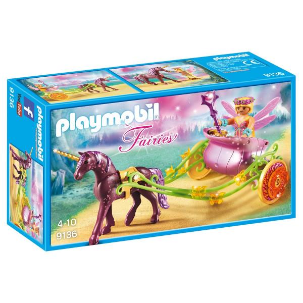 Конструктор Playmobil Феи: Расписанный Единорогами сказочный экипаж