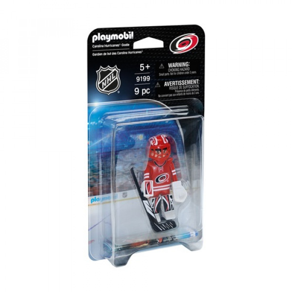 Playmobil НХЛ Вратарь Каролина Харрикейнс