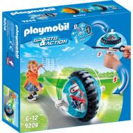 Конструктор Playmobil Синий гонщик на роликах