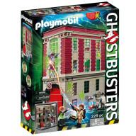 Конструктор Playmobil Охотники за привидениями: Здание пожарной службы