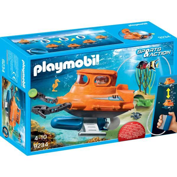 Конструктор Playmobil Промо набор: Подводная лодка с подводным двигателем