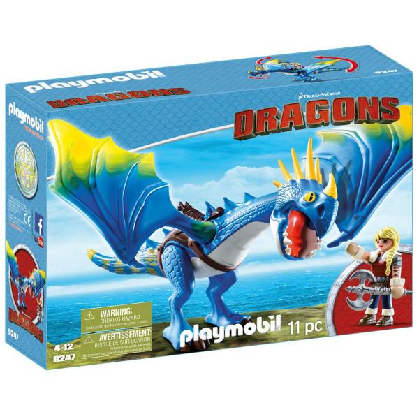 Конструктор Playmobil Драконы: Астрид и Громгильда