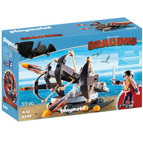 Конструктор Playmobil Драконы: Эрет с 4 Баллистами