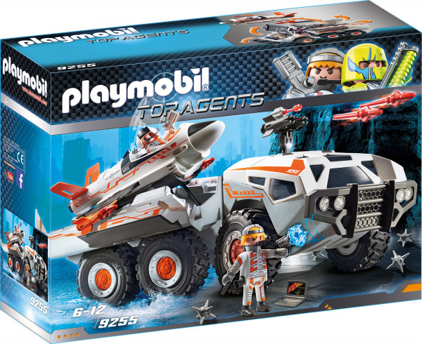 Конструктор Playmobil Боевой грузовик команды шпионов