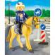 Конструктор Playmobil Конный спорт: Горная полиция