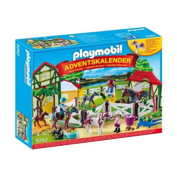 Конструктор Playmobil Адвент-календарь - Лошадиная ферма