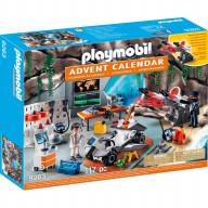 Конструктор Playmobil Адвент-календарь - Суперагенты