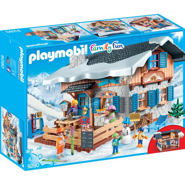 Конструктор Playmobil Зимние виды спорта: Лыжная база