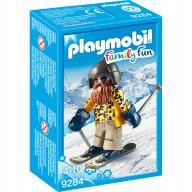 Конструктор Playmobil Зимние виды спорта: Лыжник с палками