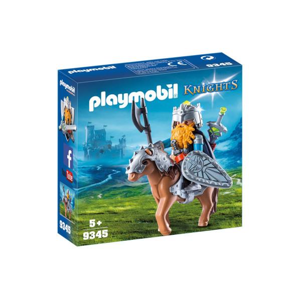 Конструктор Playmobil Гномы: Боевой гном на коне