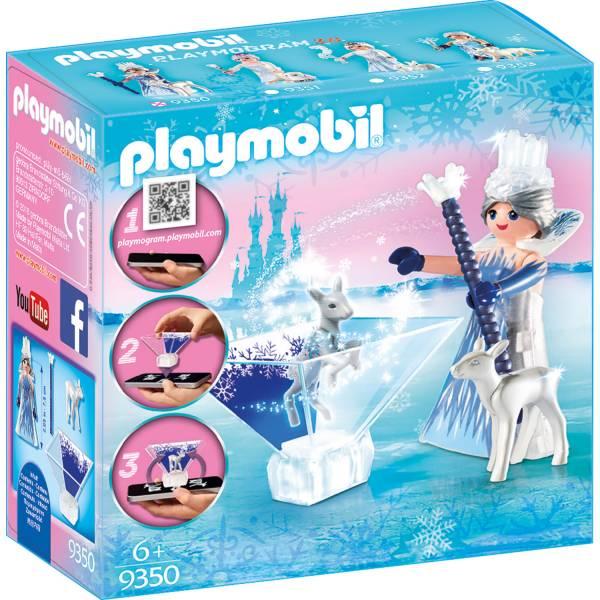 Конструктор Playmobil Принцесса голограмма: Ледяной кристалл принцессы