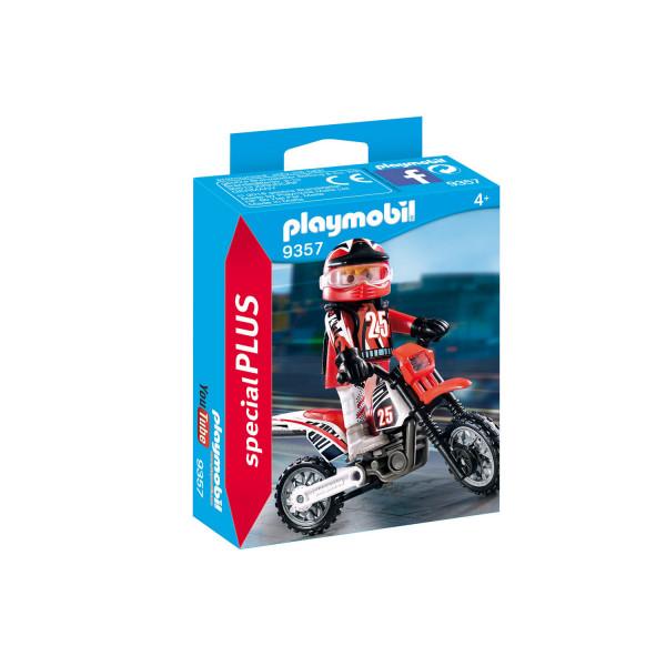 Конструктор Playmobil Экстра-набор: Водитель мотоцикла