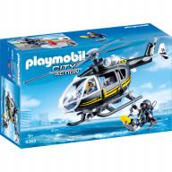 Конструктор Playmobil Полиция: Тактическое подразделение: вертолет
