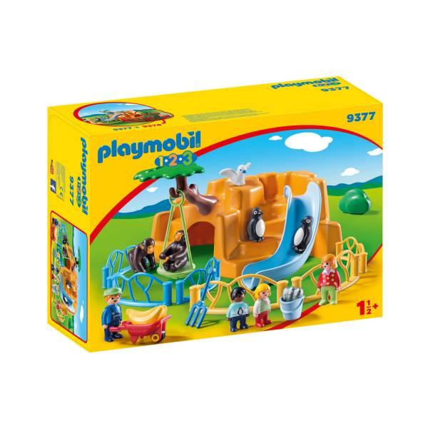 Конструктор Playmobil 1.2.3 Зоопарк