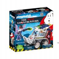 Конструктор Playmobil Охотники за привидениями: Спенглер с клеткой-автомобилем