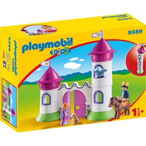 Конструктор Playmobil Промо 1.2.3 Замок с башнями