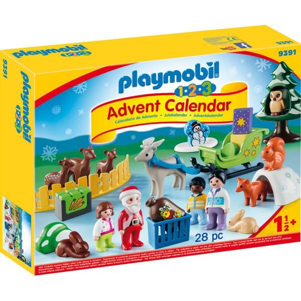 Конструктор Playmobil Рождественский календарь: Рождество в лесу