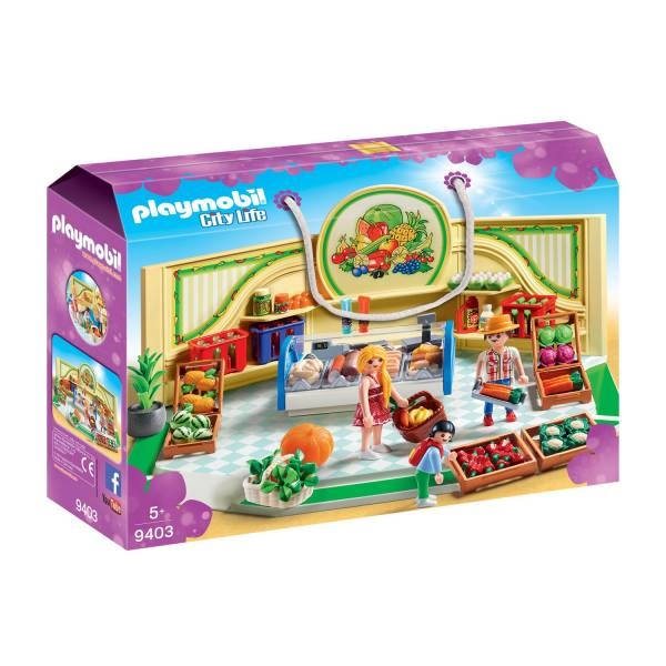 Конструктор Playmobil Шопинг: Магазин продуктов