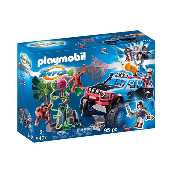 Конструктор Playmobil Супер4: Монстр-грузовик с Алекс и Рок Брок