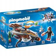 Конструктор Playmobil Супер4: Скайджет пришельца Сикрониана с Джином