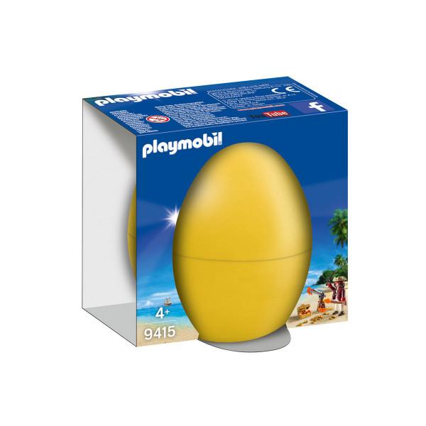Конструктор Playmobil Пасхальное яйцо: Пират с пушкой