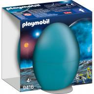 Конструктор Playmobil Пасхальное яйцо: Космический агент с роботом