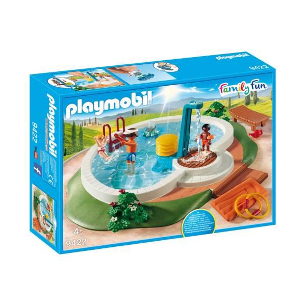 Конструктор Playmobil Загородный дом: Бассейн