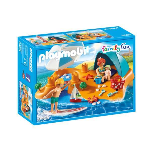 Конструктор Playmobil Загородный дом: Семейный Пляжный День